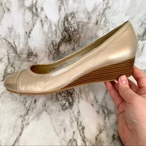 Cole Haan wedged Flats | Size 8.5